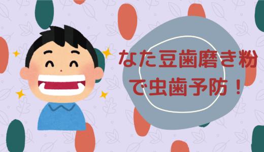 虫歯予防にも期待ができる?なた豆歯磨き粉について解説!